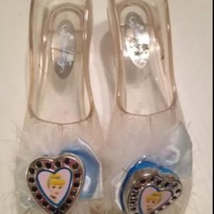 Shoes - Cinderella light up shoes purse