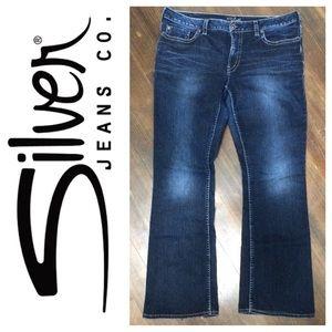 56% off Silver Jeans Denim - Silver Jeans Natsuki Capri size 18