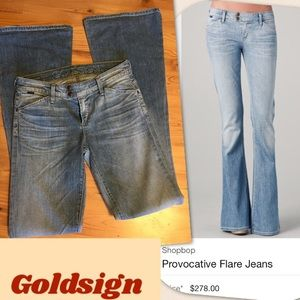 Goldsign Denim - Goldsign Boho Provocative Flare