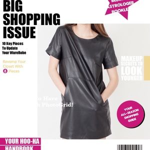 Modern Citizen Dresses & Skirts - 👉🏽 FAUX LEATHER DRESS