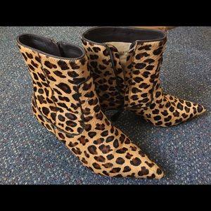 Cole Haan Nike air leopard print booties