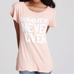 Wildfox Couture Y2K 2000s Summer's Never Over Tee