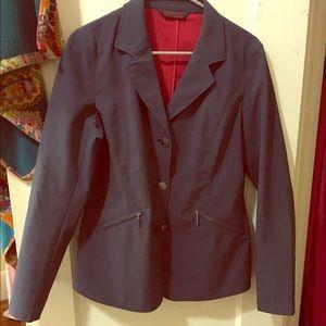 Horse Ware navy show coat