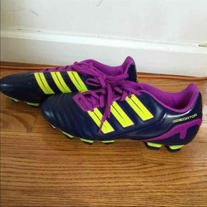 Adidas Shoes - Women's Purple Adidas Soccer Cleats Size 8.5 NEW