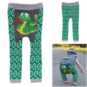 1 LEFT⚡️NWT Doodle Rattlesnake knit pants/leggings