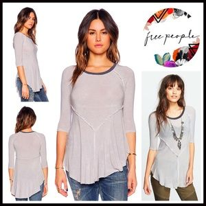 ❗1-HOUR SALE❗FREE PEOPLE Tunic Swing Tee