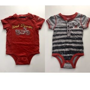 Amy Coe Other - AMY COE:  2 onesies 12M