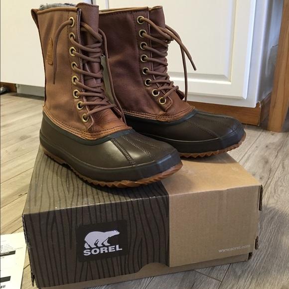 39d384a27e8 Sorel 1964 premium T CVS insulated duck boots men's NWT