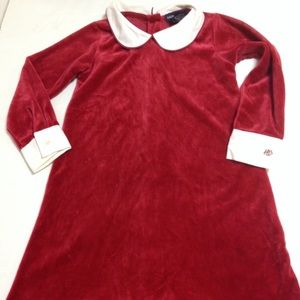 Ralph Lauren red Christmas holiday dress 4T