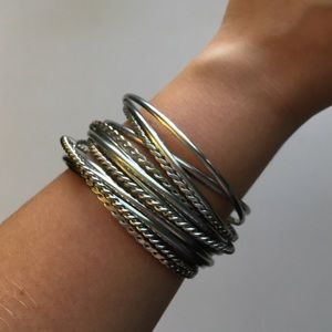 Silver bangles for sale!! 