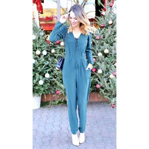 •Rory Beca Deep V jumpsuit in S•