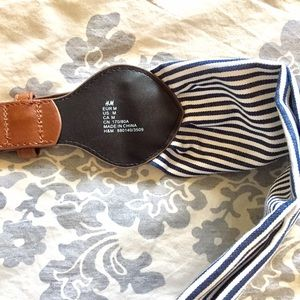 H&M Accessories - H&M nautical style wide belt