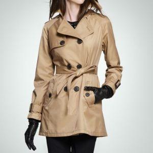Dana Bachman Trench Jacket Size Medium