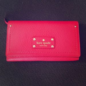 Beautiful Red Kate Spade Wallet