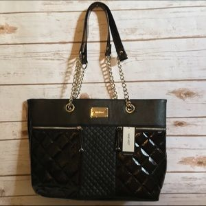 NWTNine West Black Tote/Shoulder Bag