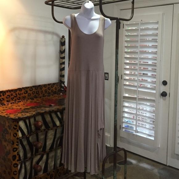 Calvin Klein Dresses & Skirts - Calvin Klein Cream Long Knit Dress- Sz 10