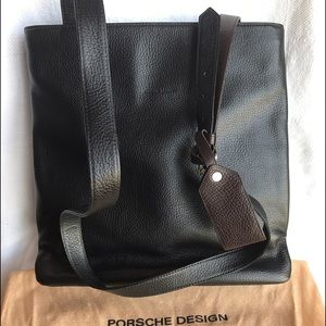 Porsche Design Handbags - NWOT Porsche Design two tone shoulder bag
