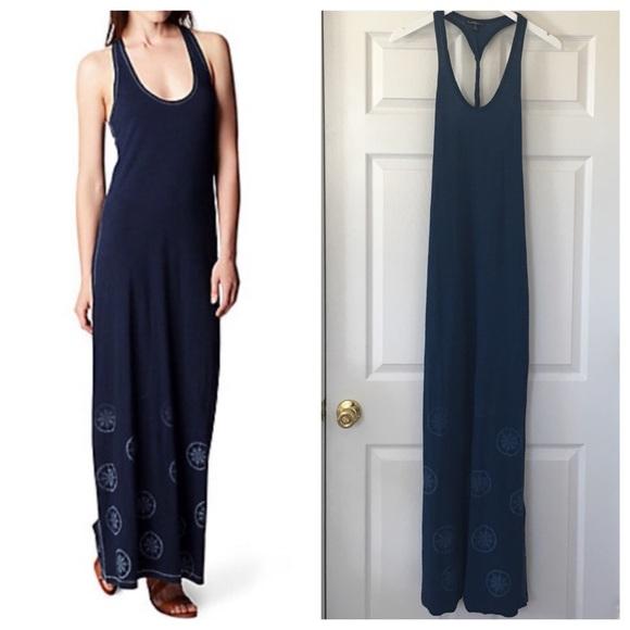 1da374526 True Religion Indigo Twist Back Maxi Dress. M 58b31ad56d64bc68a800dbcb