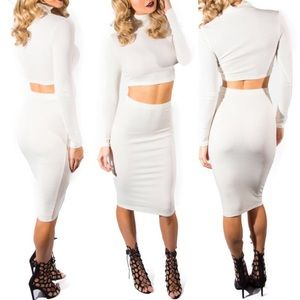 Dresses & Skirts - Classic Ivory Two Piece Set