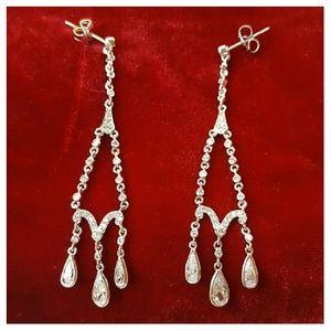 Kenneth Jay Lane Jewelry - CZ Delicate Drop Post Earrings