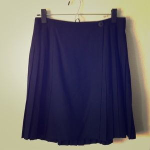 ••CLEARANCE•• Wool Pleated Skirt