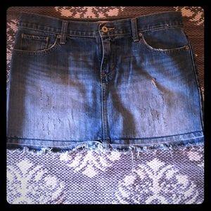 Old navy size 8 Blue Jean skirt