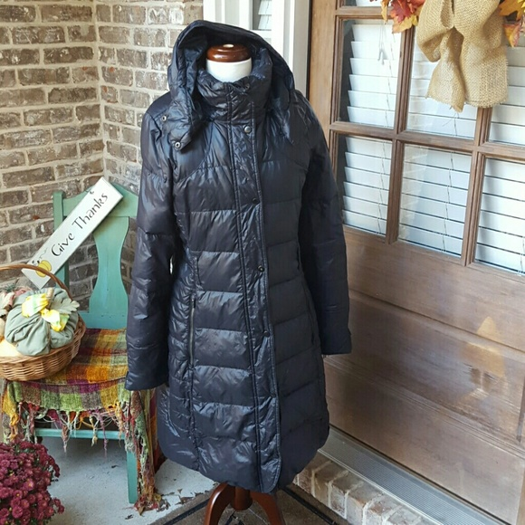 08769be8e Black Nike Puffer Down Coat