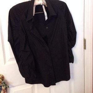 Prada black simple shirt