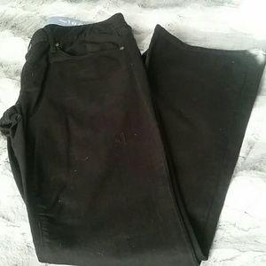 Gap 1969 curvy black jean, boot cut