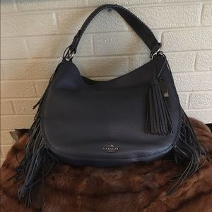 Coach Handbags - SALE!!  Coach Fringe Nomad Bag -Firm!