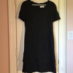 Carolina Herrera Dresses & Skirts - Carolina Herrera Black ruffle hem Dress