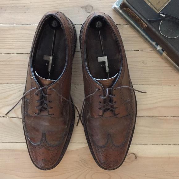 ee7d37a4d07d2 Men's Florsheim Imperial Wingtip Shoes Vintage