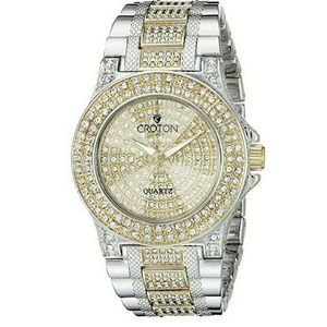 Croton  Accessories - NWT CROTON $550 Austrian Crystal Two Tone Watch