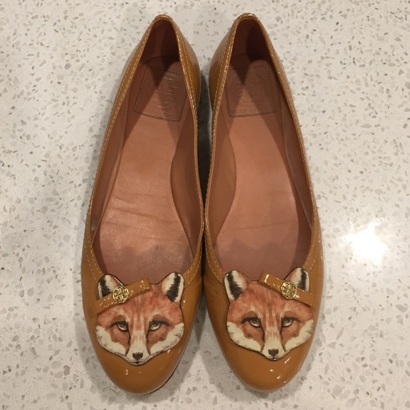 ceb590f765a03 ... youtube 3d492 da77a  clearance tory burch fox flats 73bea 813f7