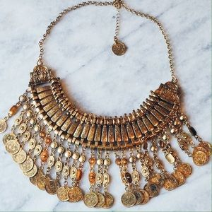 Child of Wild Jewelry - Child of wild coin necklace gold