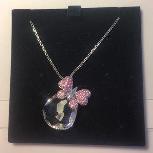 Swarovski Jewelry - Gorgeous Swarovski Butterfly Necklace EUC
