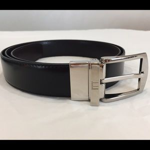 Dunhill Other - Dunhill Men's Classic Buckle Logo Reversible Belt.