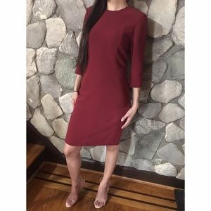 • Rag & Bone Maroon dress size 2 •