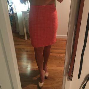 J Crew Tweed Pencil Skirt