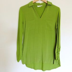 Vince Camuto Roll Sleeve Tunic