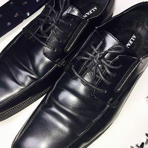 Alfani Shoes - Alfani Men's PROUD Black Dress Shoes NEW-ish