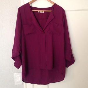 Perfect Plum Colored Blouse