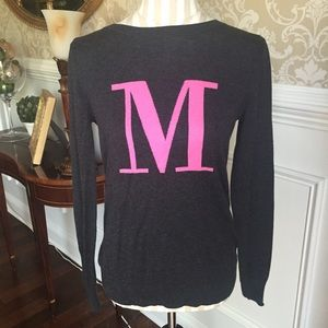 """Old Navy """"M"""" sweater...Size S"""