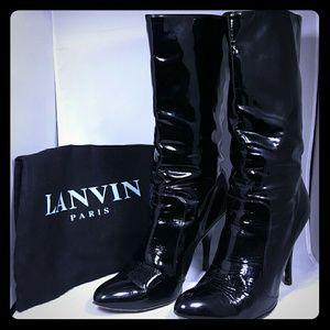 Lanvin Shoes - Lanvin Patent Leather Boots