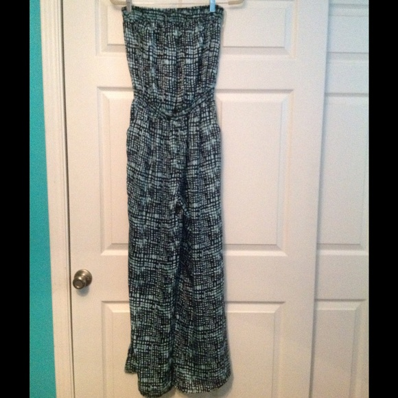 13ea21cf40d5 Maude Pants - Turquoise   Black Jumpsuit