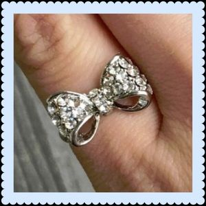 T&J Designs Jewelry - T&J design bow crystal ring
