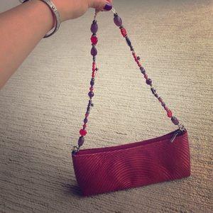 Ethnic handwoven / handmade little handbag