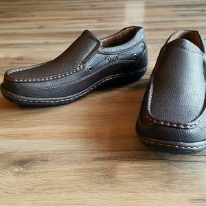 Ancora Other - Brown leather loafers