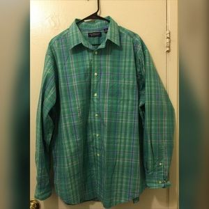 Long Sleeve Button Front