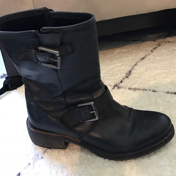 Shoes | Minelli Slouchy Moto Boots